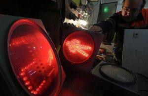 Москвичам предложили оценить эксперимент с подсветкой светофоров
